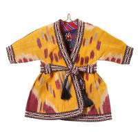 Uzbek Ikat Dress