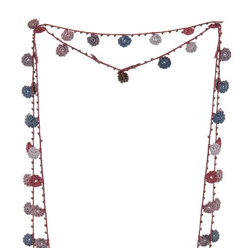 Necklace Crochet Long